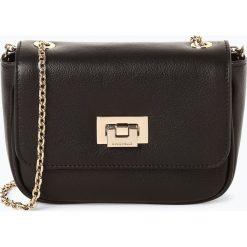 Coccinelle - Damska torba na ramię ze skóry, czarny. Czarne torebki klasyczne damskie Coccinelle, ze skóry, małe. Za 749,95 zł.