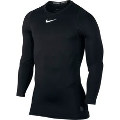 T-shirty męskie: koszulka termoaktywna męska NIKE PRO WARM COMPRESSION LONG SLEEVE TOP / 838044-010 – WARM COMPRESSION LONG SLEEVE TOP