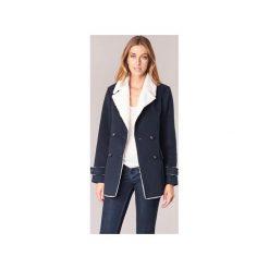 Płaszcze Casual Attitude  HAVI. Niebieskie płaszcze damskie marki Casual Attitude, l, casualowe. Za 216,80 zł.