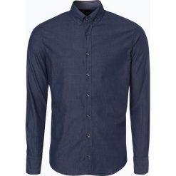 Koszule męskie na spinki: BOSS Casual – Koszula męska – Epreppy_1, niebieski