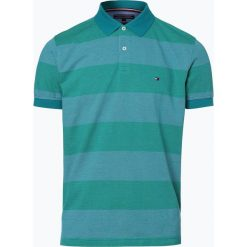 Tommy Hilfiger - Męska koszulka polo, zielony. Zielone koszulki polo TOMMY HILFIGER, m. Za 249,95 zł.