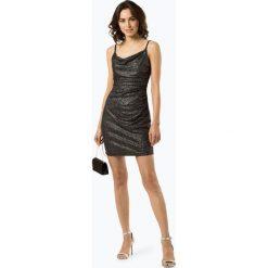 Marie Lund - Sukienka damska, czarny. Czarne sukienki balowe marki bonprix, w paski, z dekoltem woda. Za 449,95 zł.