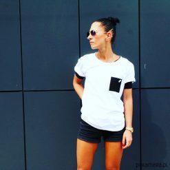 T-SHIRT ONE POCKET TEE UNISEX kolory. Szare t-shirty damskie marki Pakamera, m, z bawełny. Za 89,00 zł.