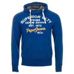 Pepe Jeans Bluza Męska Whesley M, Niebieski. Niebieskie bejsbolówki męskie Pepe Jeans, m, z napisami, z jeansu. Za 389,00 zł.