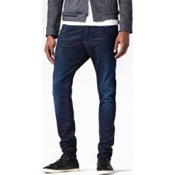G-Star Raw - Jeansy Revend Super Slim. Niebieskie jeansy męskie slim G-Star RAW, z aplikacjami, z bawełny. Za 459,90 zł.
