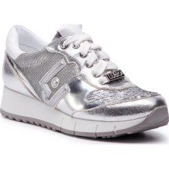 Sneakersy LIU JO - Gigi 02 B19019 EX006 Silver 00532. Szare sneakersy damskie Liu Jo, z materiału. Za 649,00 zł.