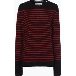 Marc O'Polo Denim - Sweter męski, czerwony. Czerwone swetry klasyczne męskie Marc O'Polo DENIM, m, w paski, z denimu, polo. Za 379,95 zł.