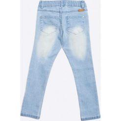 Name it - Jeansy dziecięce 104-134 cm. Szare jeansy dziewczęce Name it, z haftami, z bawełny. W wyprzedaży za 39,90 zł.