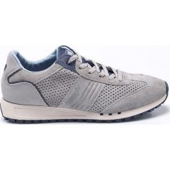 Wrangler - Buty. Szare buty skate męskie Wrangler, z materiału, na sznurówki. W wyprzedaży za 229,90 zł.