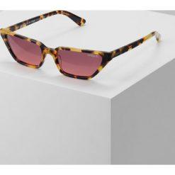 VOGUE Eyewear GIGI HADID Okulary przeciwsłoneczne brown yellow tortoise. Czerwone okulary przeciwsłoneczne damskie aviatory VOGUE Eyewear. Za 579,00 zł.