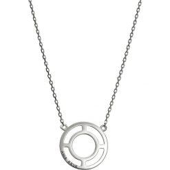 Naszyjniki damskie: Srebrny naszyjnik – (D)42 cm