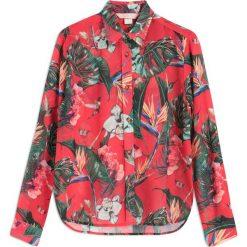 Koszule wiązane damskie: Koszula Meza Tropical Red