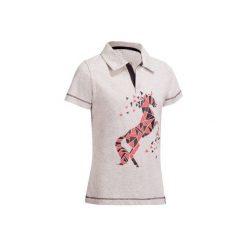 Bluzki dziewczęce: Koszulka polo PL100 szara