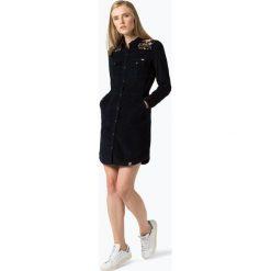 Superdry - Sukienka damska, czarny. Czarne sukienki Superdry, m, z haftami, z materiału, eleganckie. Za 449,95 zł.