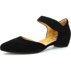 """Sandały damskie: Skórzane sandały """"Julia"""" w kolorze czarnym"""