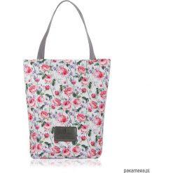 TOREBKA SHOPPERKA 1950. Czerwone shopper bag damskie marki Pakamera, w kolorowe wzory, duże. Za 115,00 zł.