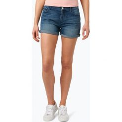 Calvin Klein Jeans - Spodenki damskie, niebieski. Niebieskie szorty jeansowe damskie marki Calvin Klein Jeans. Za 279,95 zł.
