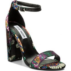 Sandały damskie: Sandały STEVE MADDEN – Carrson Sandal 91000899-09027-01068 Multi (Black Multi Brocade)