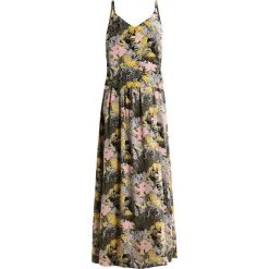 Długie sukienki: Object OBJCHARLIE Długa sukienka golden mist