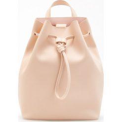 Torebki i plecaki damskie: Plecak typu worek - Różowy