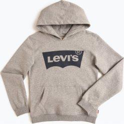 Levi's - Chłopięca bluza nierozpinana, szary. Szare bluzy chłopięce rozpinane marki Levi's®, z kapturem. Za 199,00 zł.
