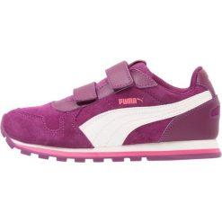 Puma ST RUNNER  Tenisówki i Trampki dark purple/marshmallow. Fioletowe trampki chłopięce marki Puma, z gumy. W wyprzedaży za 135,20 zł.