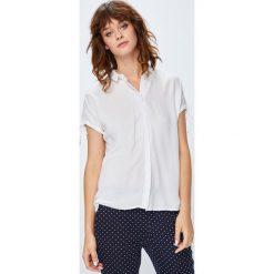 Medicine - Koszula Basic. Szare koszule damskie marki MEDICINE, l, z tkaniny, casualowe, z klasycznym kołnierzykiem, z krótkim rękawem. W wyprzedaży za 49,90 zł.