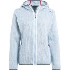 CMP WOMAN FIX HOOD JACKET Kurtka z polaru light blue. Czerwone kurtki sportowe damskie marki CMP, z materiału. W wyprzedaży za 246,75 zł.