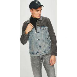 Levi's - Kurtka. Brązowe kurtki męskie jeansowe Levi's®, l. Za 399,90 zł.