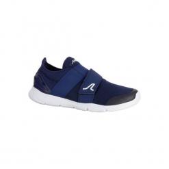 Buty męskie do szybkiego marszu Soft 180 Strap granatowo-białe. Niebieskie buty fitness męskie marki NEWFEEL, z poliamidu. Za 99,99 zł.