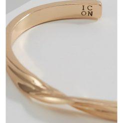 Bransoletki męskie: Icon Brand TWISTED CUFF Bransoletka goldcoloured