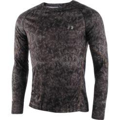 Koszulki do fitnessu męskie: koszulka do biegania męska NEWLINE IMOTION PRINTED LONGSLEEVE SHIRT / 11334-617
