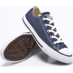 Converse - Tenisówki dziecięce. Szare buty sportowe dziewczęce Converse, z gumy, na sznurówki. W wyprzedaży za 169,90 zł.