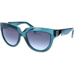 """Okulary przeciwsłoneczne damskie: Okulary przeciwsłoneczne """"V694S"""" w kolorze niebieskim"""