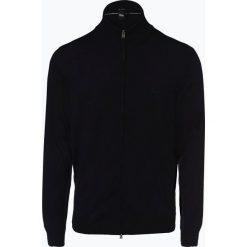 BOSS - Kardigan męski – Balonso-L, niebieski. Niebieskie swetry rozpinane męskie Boss, l, eleganckie. Za 749,95 zł.