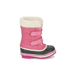 Śniegowce Dziecko Sorel  CHILDRENS 1964 PAC STRAP. Czerwone buty zimowe chłopięce Sorel. Za 263,20 zł.