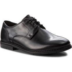Półbuty CLARKS - Banbury Lace 261322107 Black Leather. Czarne półbuty skórzane męskie Clarks. Za 399,00 zł.