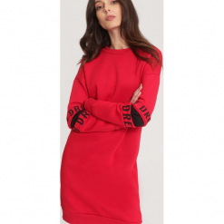 Czerwona Bluza Originality. Czerwone bluzy damskie other, l. Za 99,99 zł.