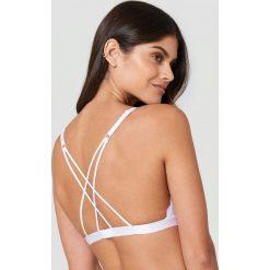 Biustonosze bardotka: Rut&Circle Biustonosz z paseczkami na plecach - White