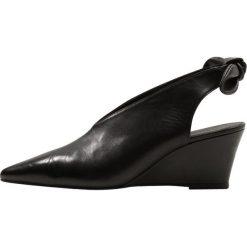 Buty ślubne damskie: Gardenia GALIMA Czółenka na koturnie black