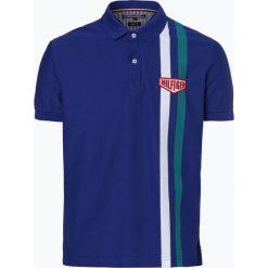 Tommy Hilfiger - Męska koszulka polo, niebieski. Szare koszulki polo marki TOMMY HILFIGER, z bawełny. Za 279,95 zł.