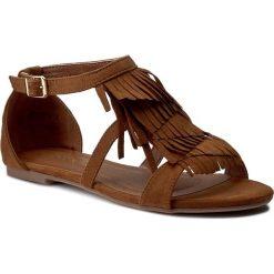Rzymianki damskie: Sandały VIA RAVIA – WS1261-5 Camel
