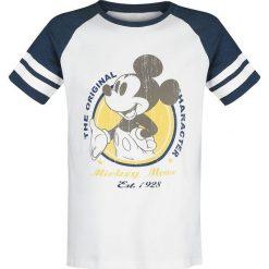T-shirty męskie: Myszka Miki i Minnie Micky Vintage T-Shirt biały/ciemnoniebieski melanż