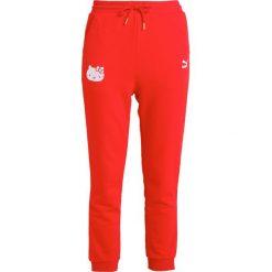Spodnie dresowe damskie: Puma PUMA PANTS Spodnie treningowe red