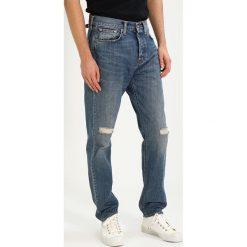 Edwin ED45  Jeansy Zwężane sandpiper repair wash. Niebieskie jeansy męskie regular Edwin, z bawełny. Za 459,00 zł.