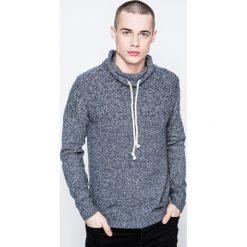 Jack & Jones - Sweter. Szare swetry klasyczne męskie Jack & Jones, l. W wyprzedaży za 69,90 zł.
