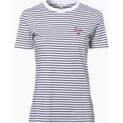 ARMEDANGELS - T-shirt damski – Lida, niebieski. Niebieskie t-shirty damskie ARMEDANGELS, xl, z haftami. Za 179,95 zł.