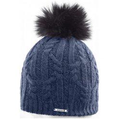 Salomon Czapka Damska Ivy Beanie Dress Blue. Niebieskie czapki zimowe damskie Salomon, na zimę, z wełny. W wyprzedaży za 135,00 zł.