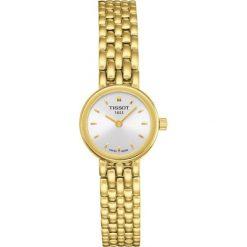 RABAT ZEGAREK TISSOT T- LADY T058.009.33.031.00. Szare zegarki damskie TISSOT, metalowe. W wyprzedaży za 1188,00 zł.