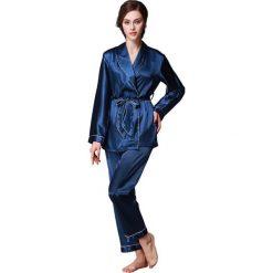 Piżamy damskie: 2-częściowa piżama w kolorze granatowym